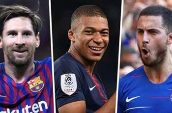 Messi, Mbappe, Hazard & the European Team of the Season so far