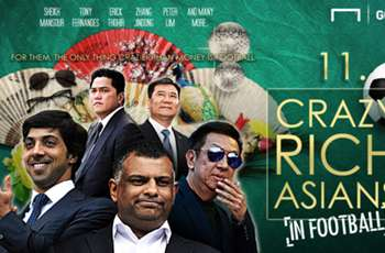 GALLERY: 11 Crazy rich Asians in football