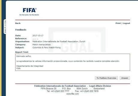 La FIFA contestó al reclamo chileno por el supuesto
