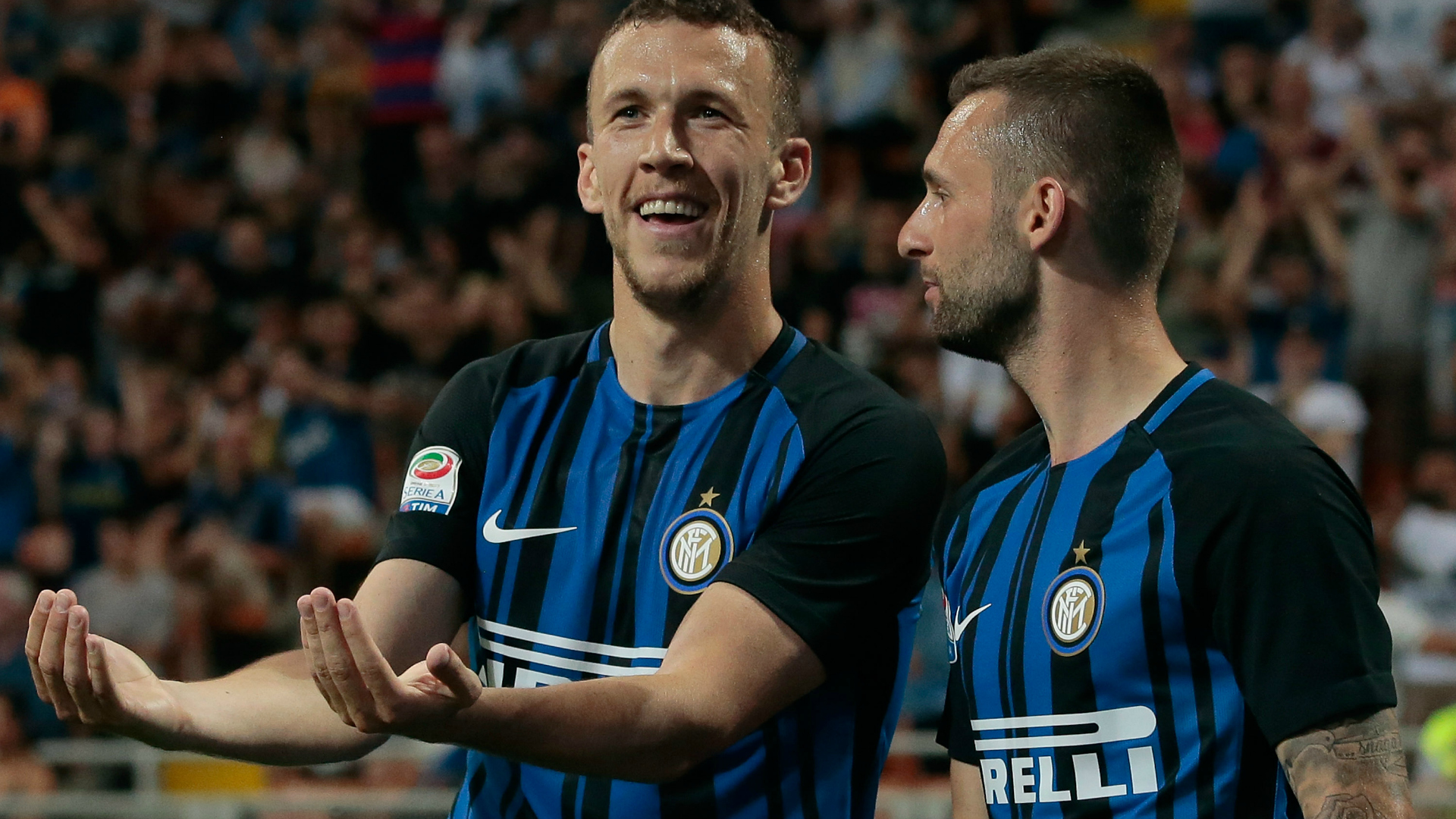 Brozovic Perisic Inter Serie A