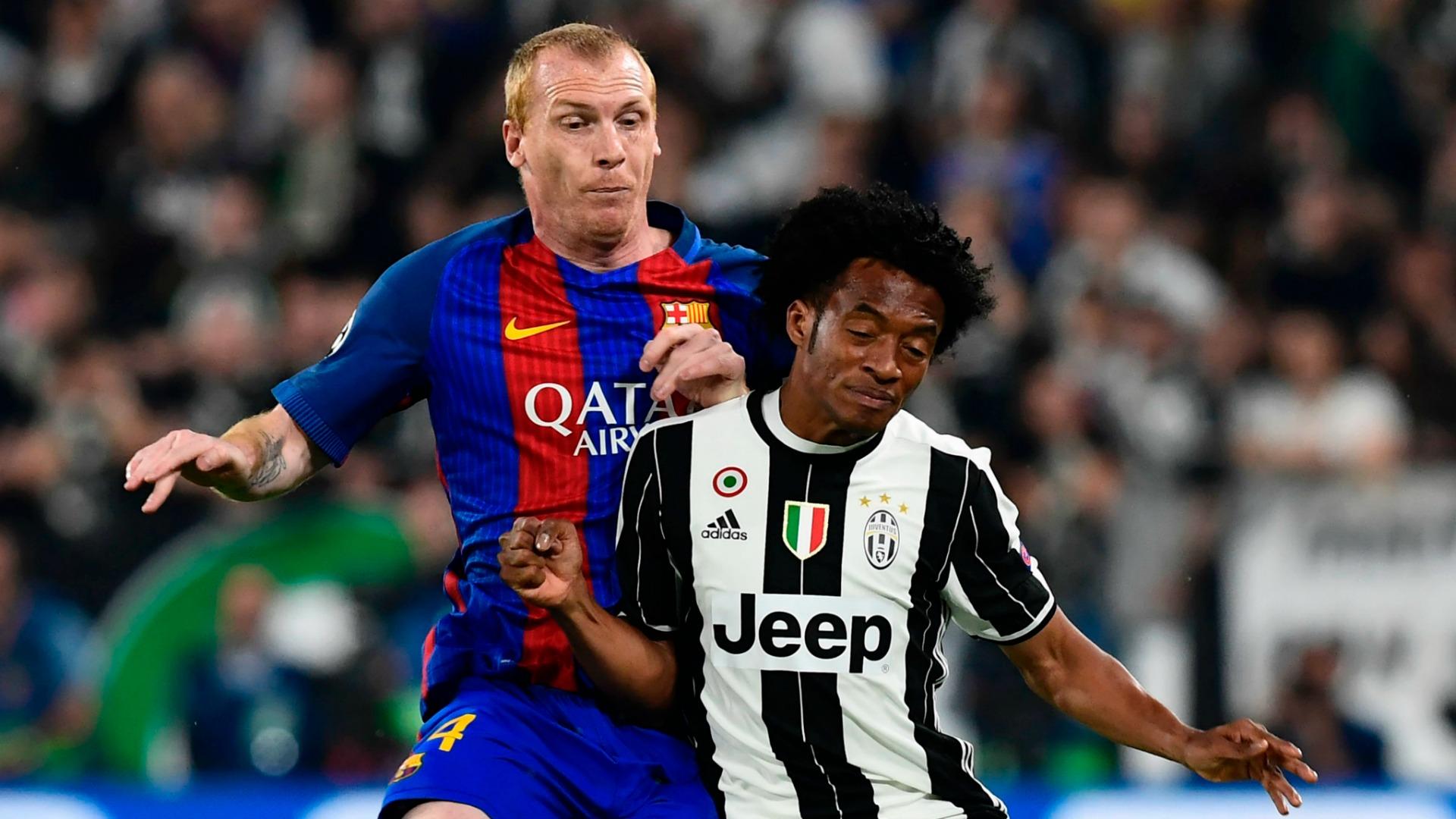 Mathieu Cuadrado Juventus Barcellona