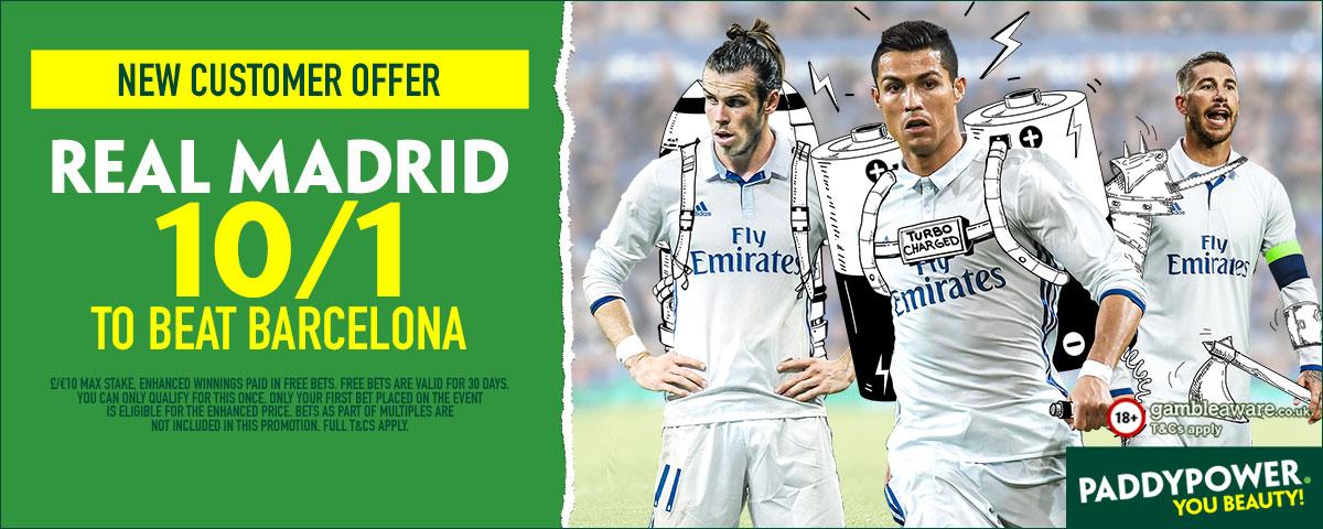 GFX Madrid Barcelona enhanced betting