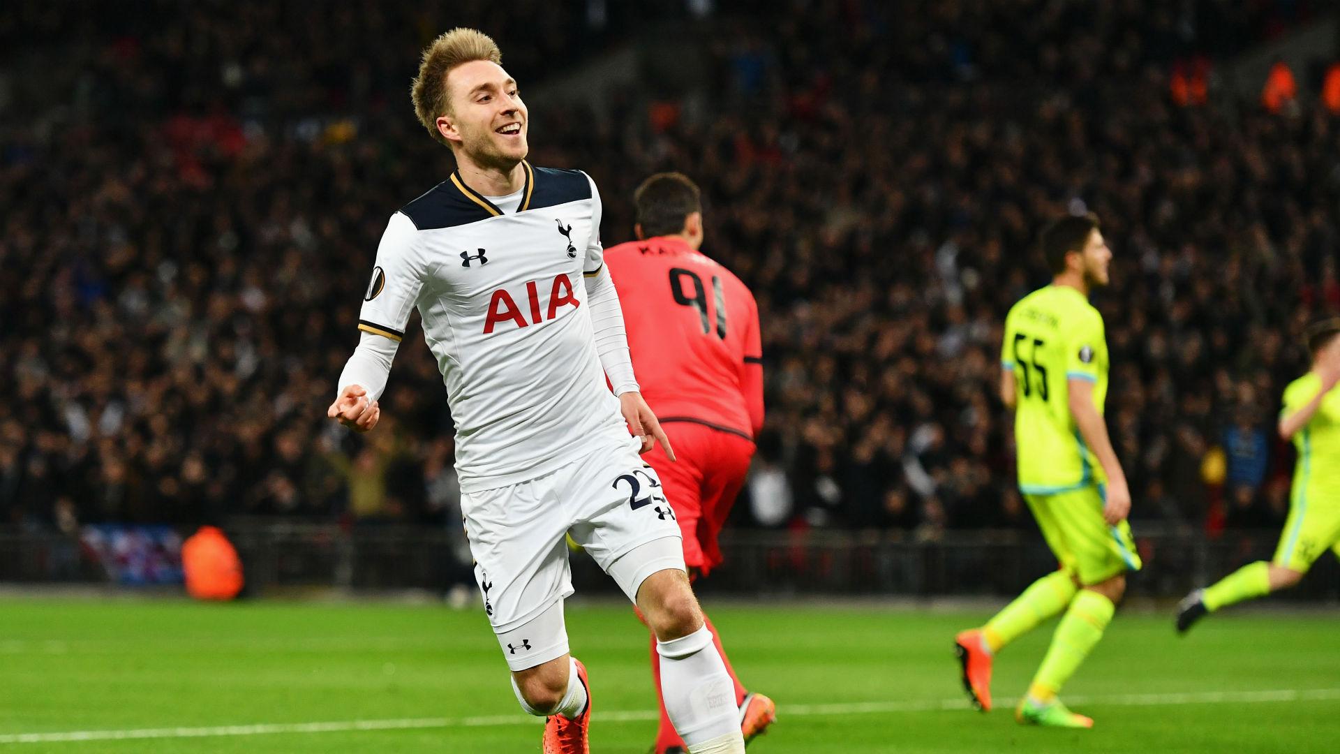 Tottenham Gent Christian Eriksen