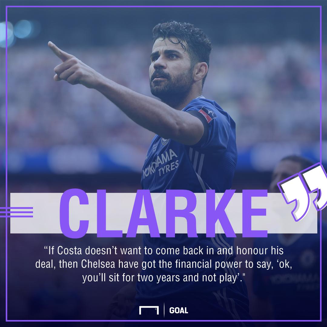 Steve Clarke Diego Costa Chelsea
