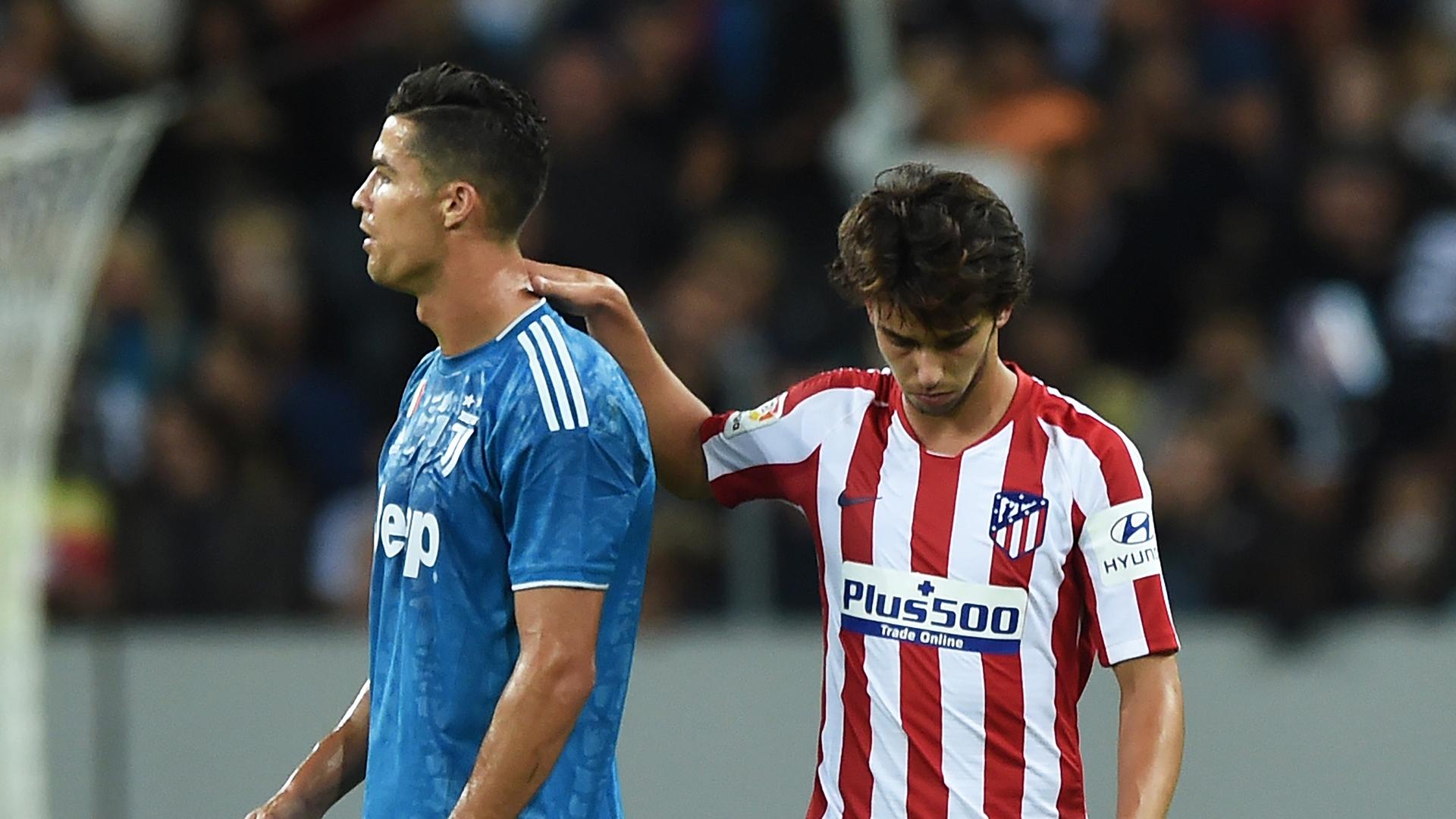 Atlético-Juve : Quand Joao Felix se mesure à son idole Cristiano Ronaldo