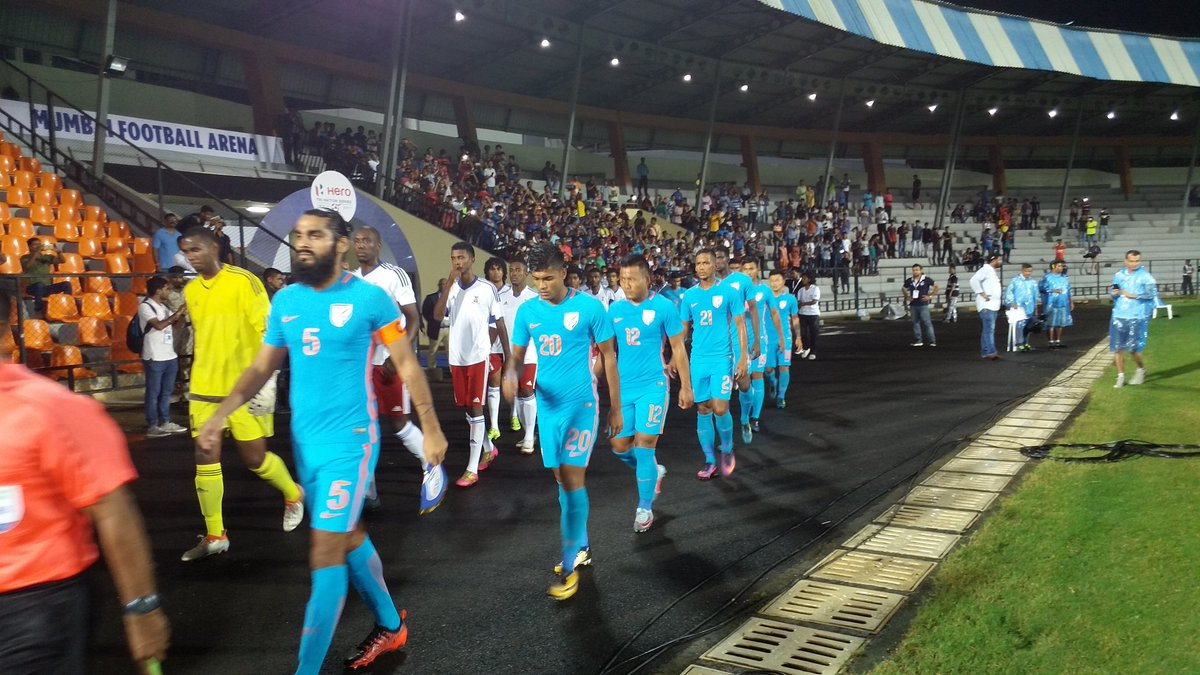 2018 Intercontinental Cup LIVE: India vs Chinese Taipei