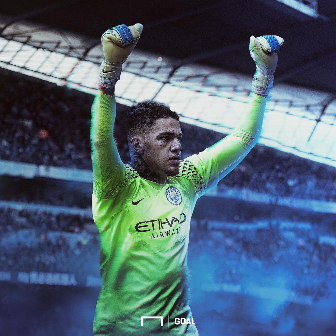 Ederson Manchester City GFX SQUARE