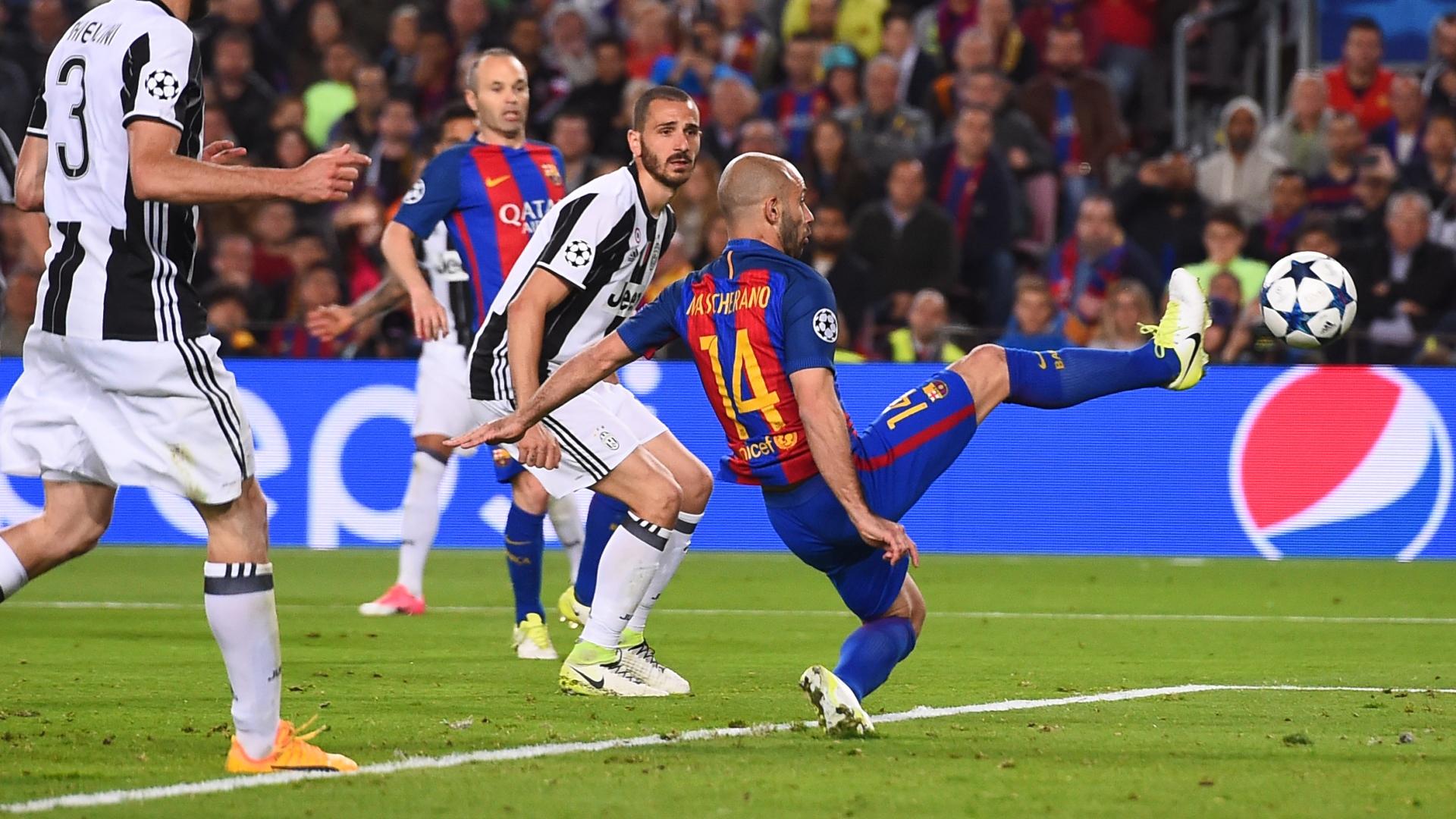 Javier Mascherano Barcelona Juventus UCL 19042017