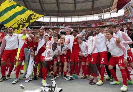 RB Salzburg én RB Leipzig in CL