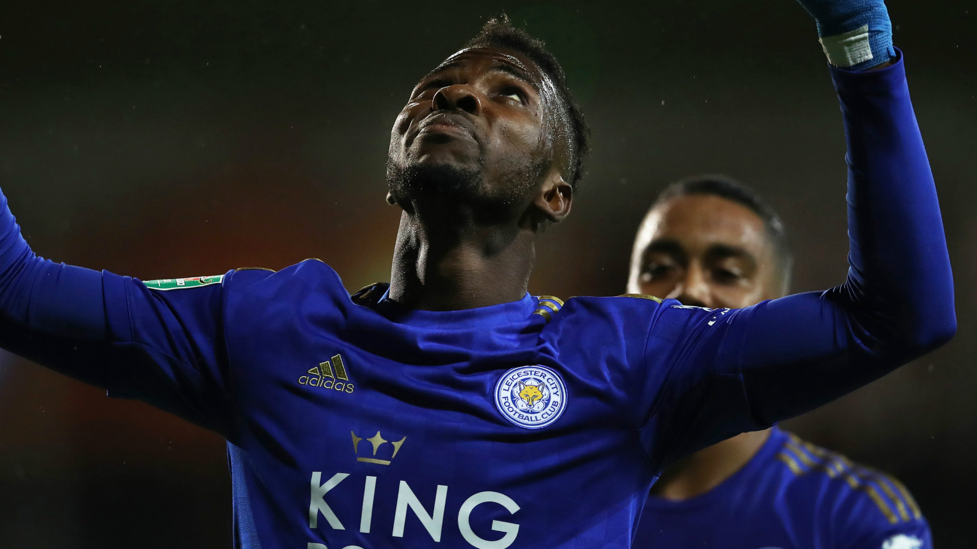 Iheanacho 'unfortunate' to be playing behind Vardy at Leicester City - Rodgers