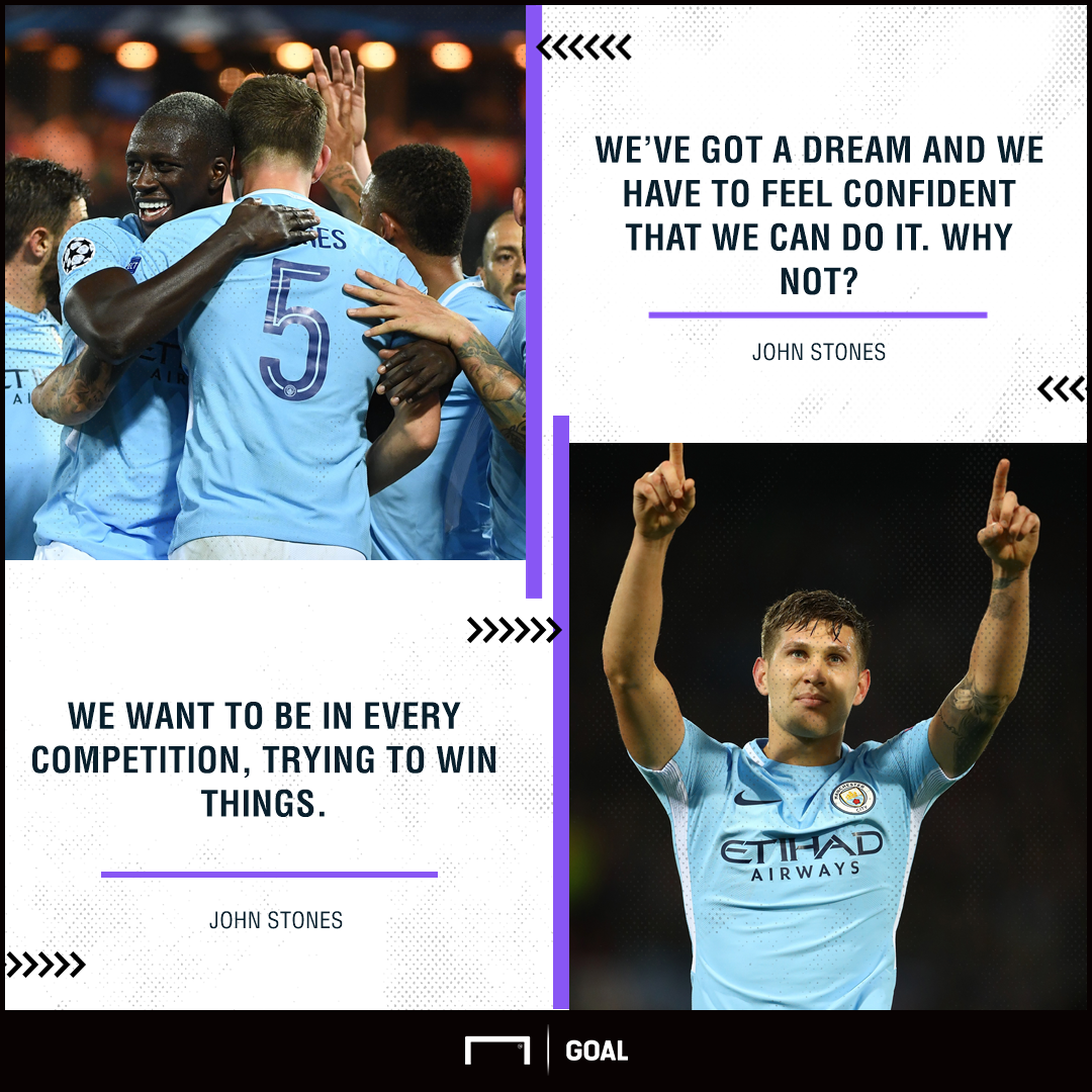 John Stones Manchester City Champions League dream