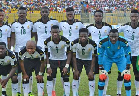 Ghana progress on November Fifa Ranking