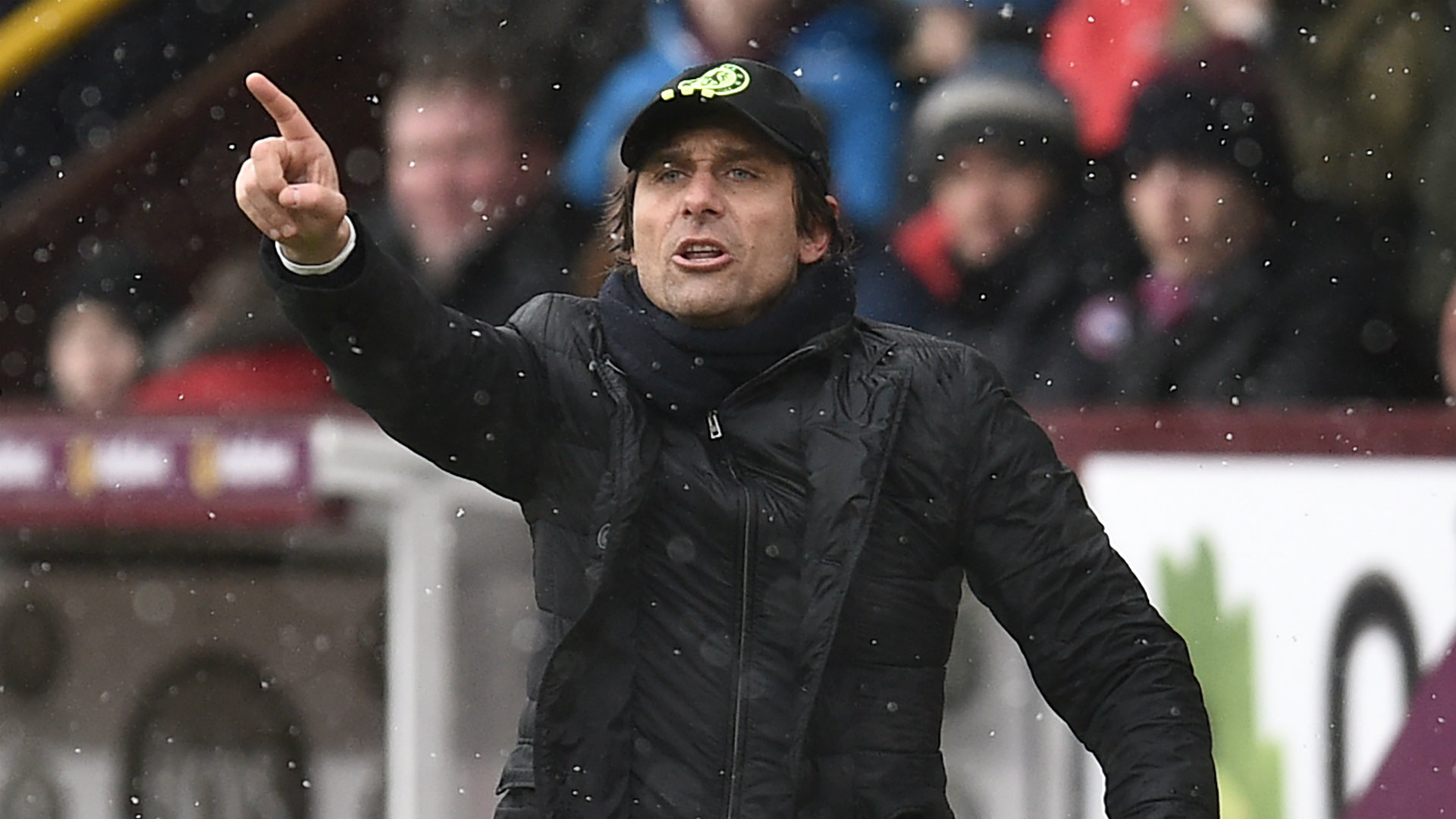 Antonio Conte Chelsea Burnley 12022016