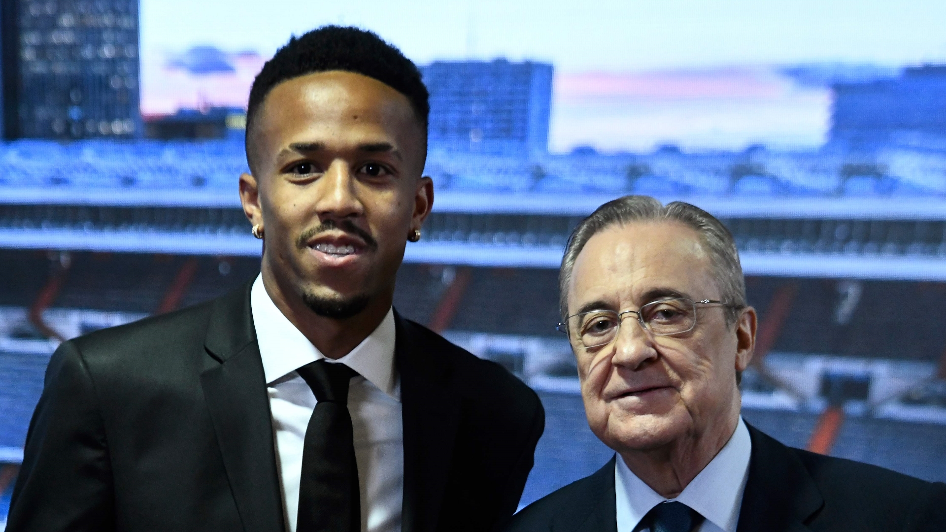 Militao cuts short Real Madrid presentation due to dizziness