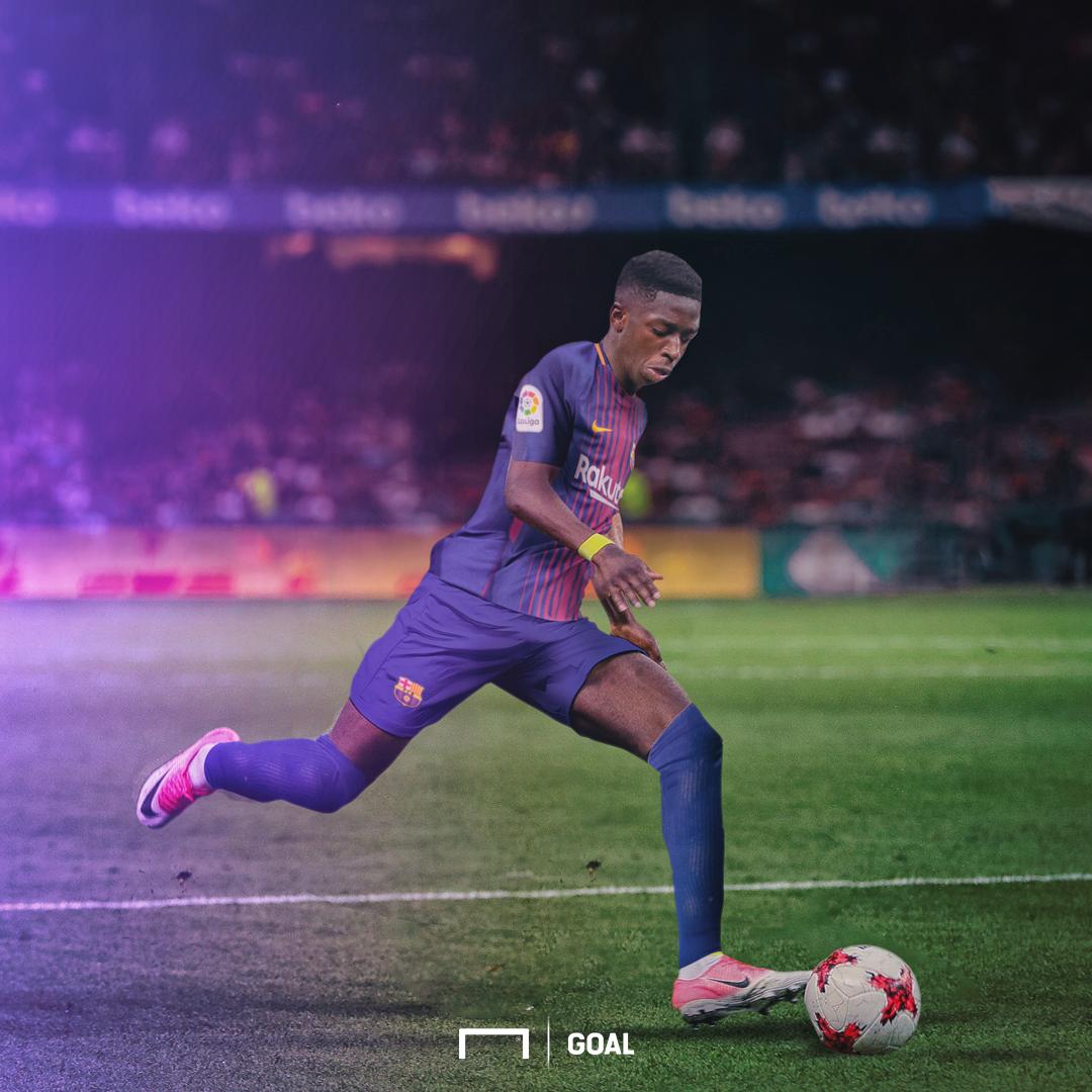 GFX Transfer Ousmane Dembele Barcelona Borussia Dortmund