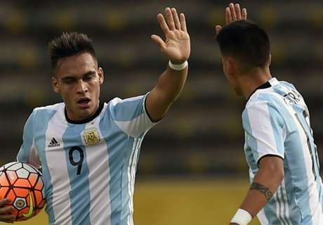 Arsenal target Martinez saves Argentina