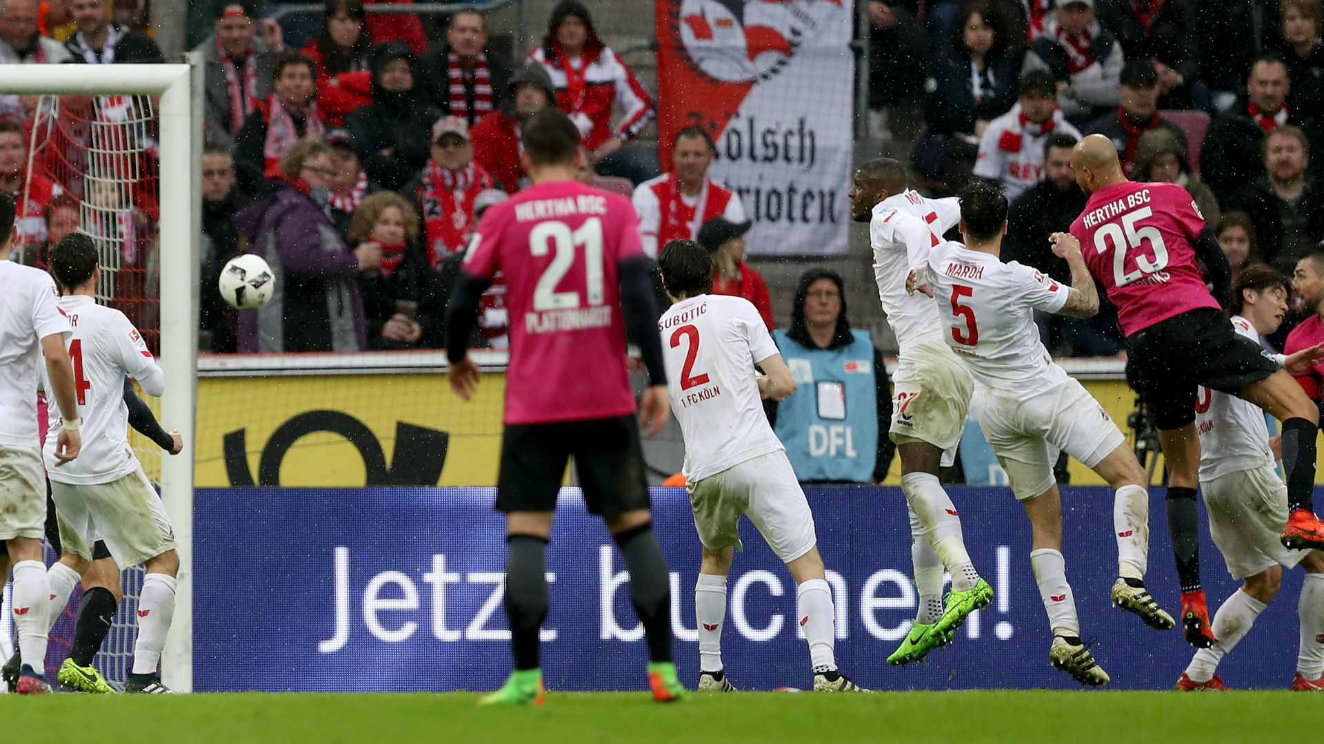 John Brooks goal Hertha Berlin Bundesliga 031817