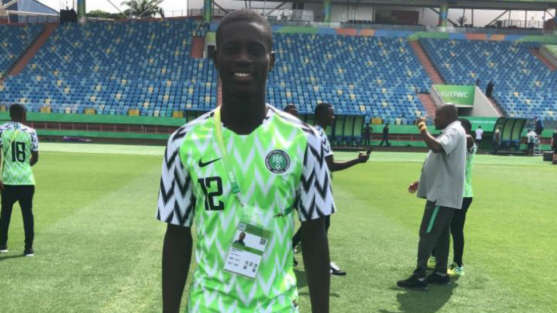 U17 World Cup: 'Little Ronaldo' Olawale leads Nigeria attack vs Australia