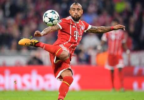 Bayern in Hamburg: Rückt Vidal ins Team?