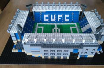 England's most iconic stadiums… recreated in Lego!