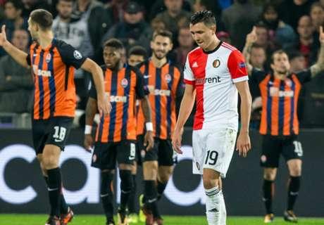 Feyenoord verliest cruciaal duel en blijft puntloos in Europa