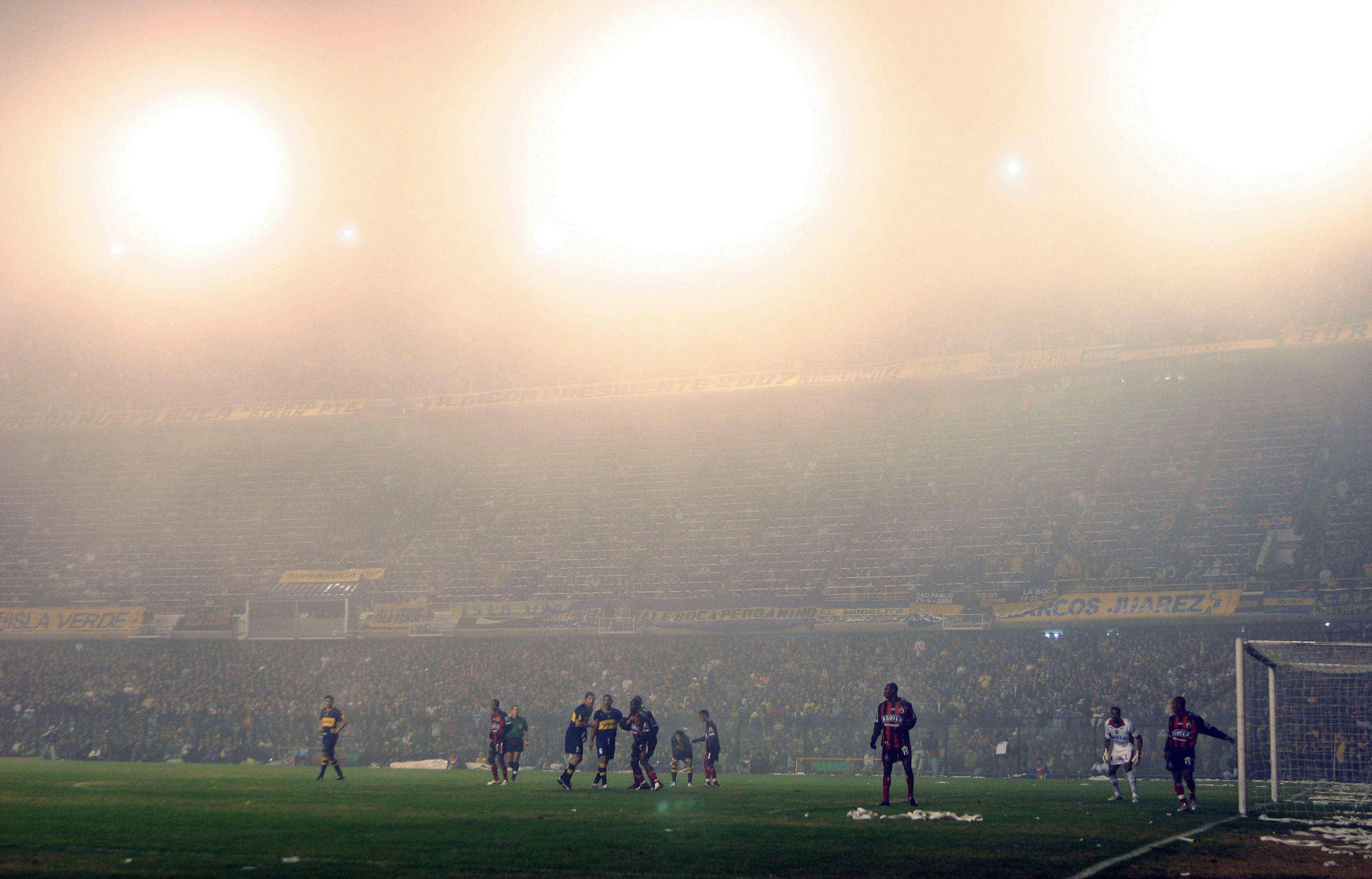 Copa Libertadores - neblina