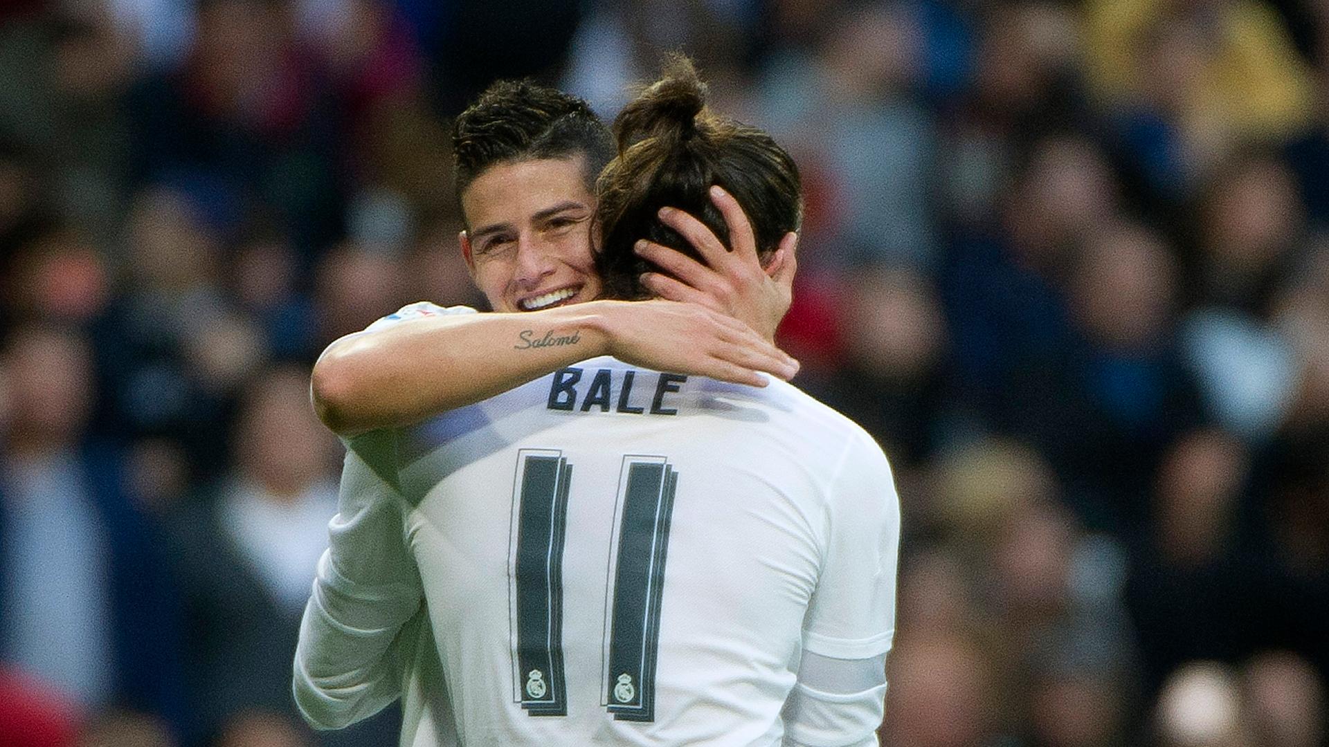 Real Madrid : Bale et James Rodriguez sont bien dans le groupe pour affronter le Celta Vigo !
