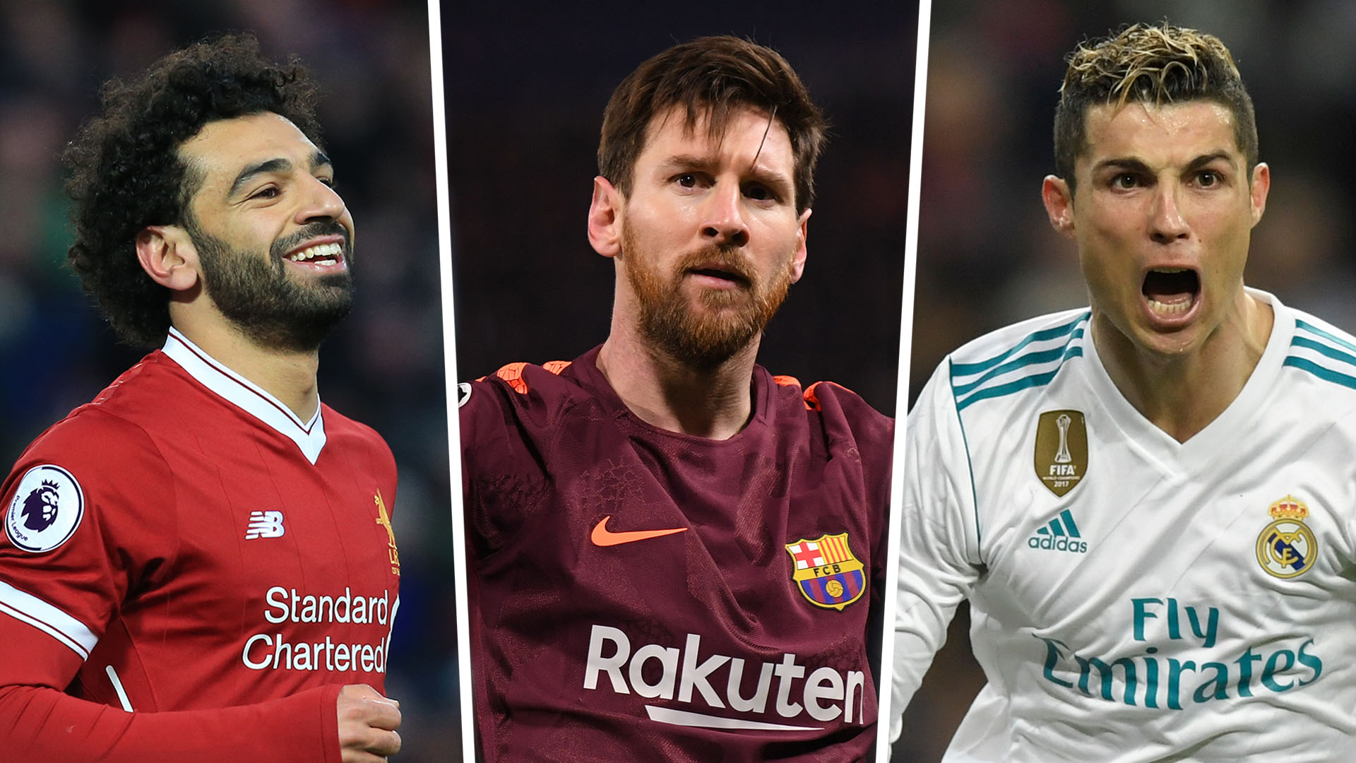 Golden Shoe   Messi Salah Europes Top Scorers