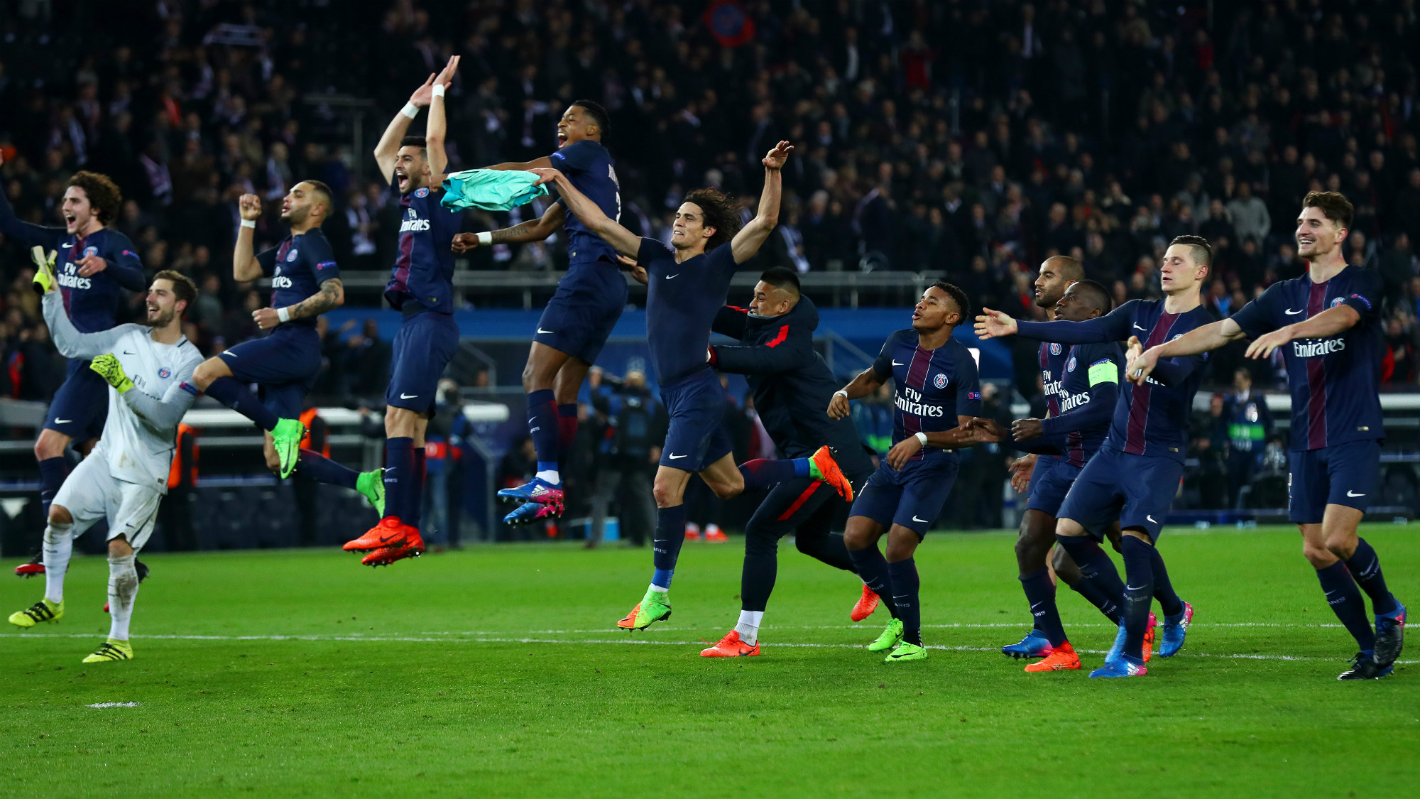 PSG Barcelona Champions League 14022017