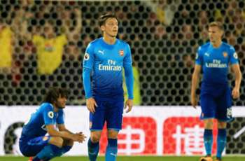 Mertesacker and Arsenal ignoring Deeney's 'cojones' jibe