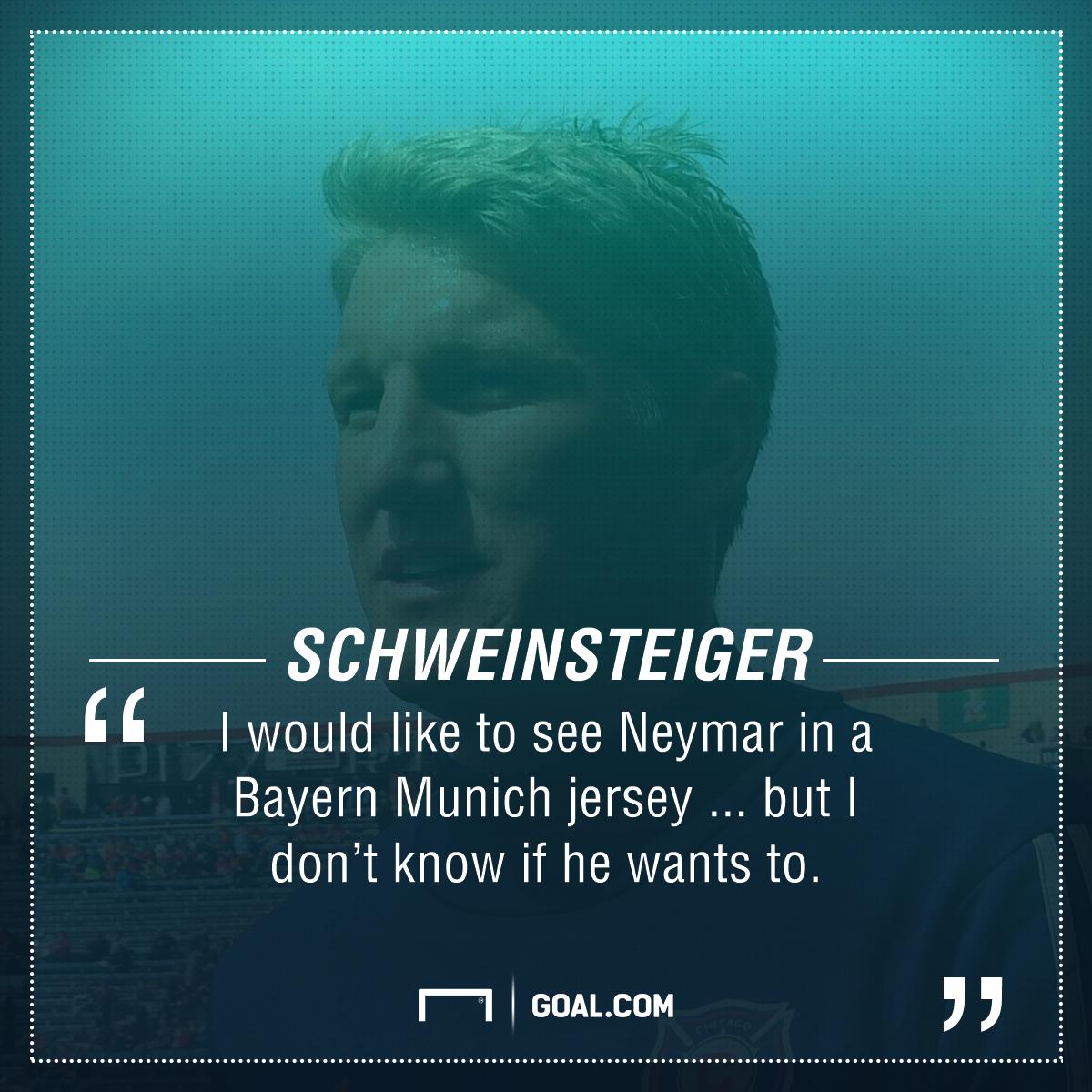 Bastian Schweinsteiger quote 05032017