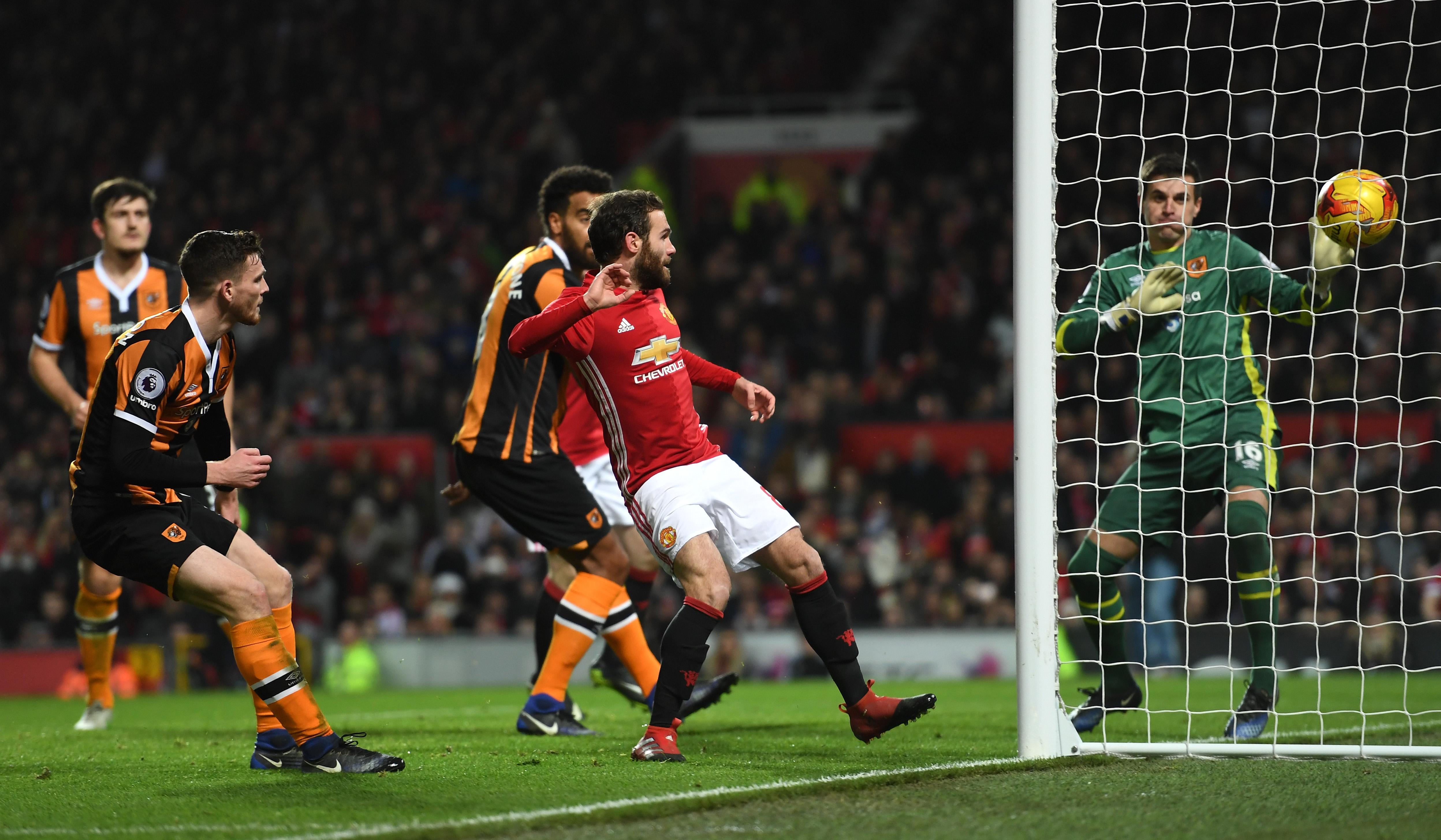 Juan Mata Manchester United Hull City