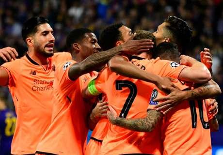 Champions, 3ª - Pari Real, Liverpool forza 7