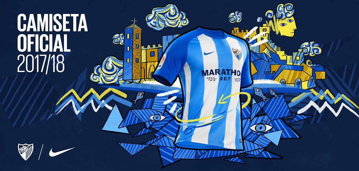 Camiseta Malaga 17-18