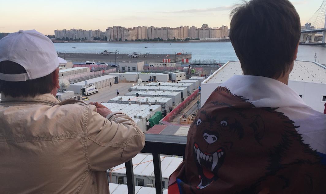 Krestovsky Stadium (Saint Petersburg) fans
