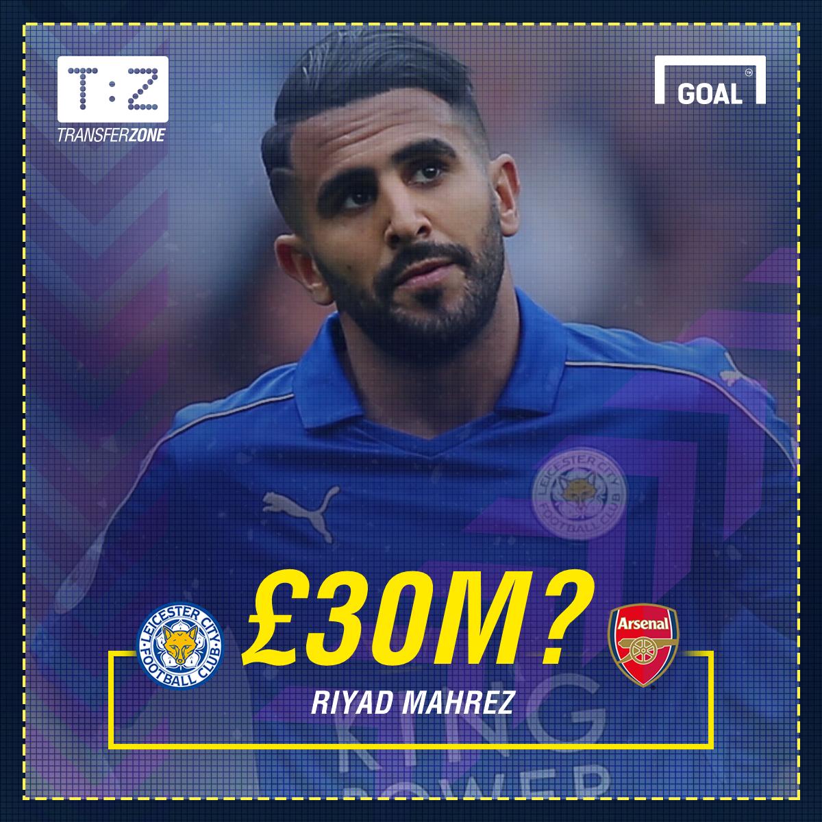 Riyad Mahrez Leicester City GFX