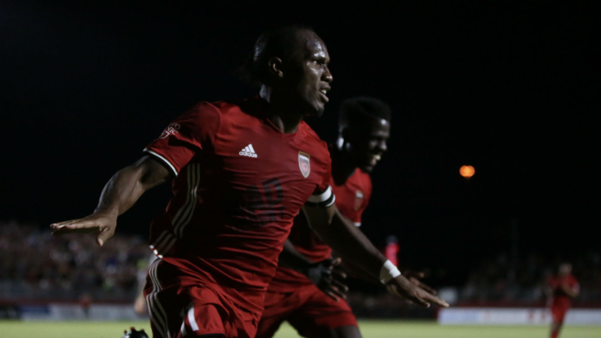 Chelsea legend Didier Drogba scores & assists on Phoenix Rising debut