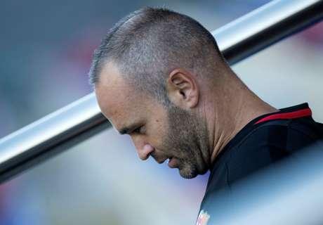 Segue a indefinição entre Iniesta e Barça