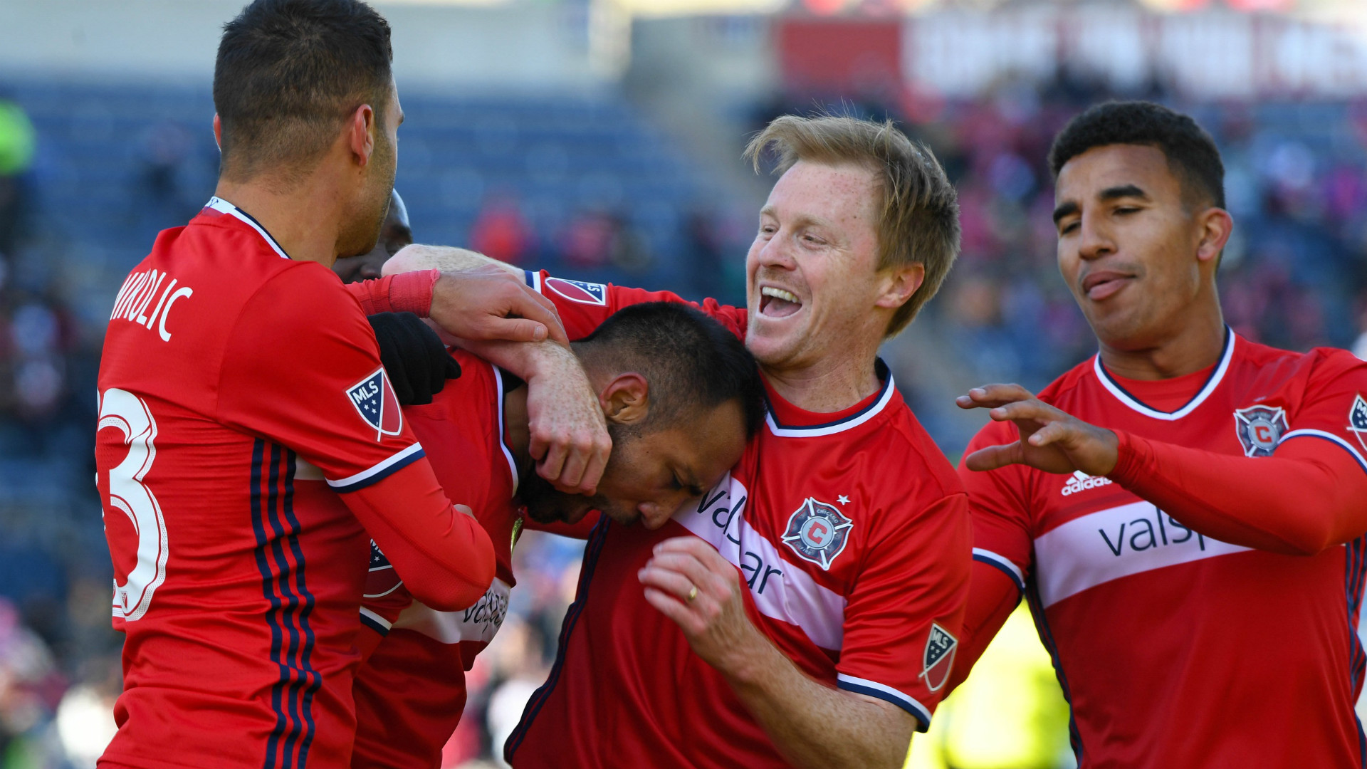 Dax McCarty MLS Chicago Fire 04042017