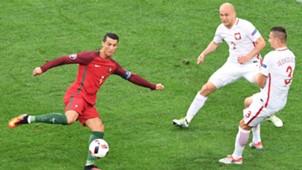 Ronaldo Portugal Poland Euro 2016
