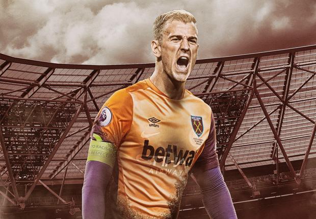 Offiziell Joe Hart unterschreibt bei West Ham United