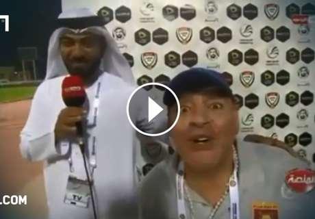 VIDEO: Maradona rastet nach Last-Minute-Tor aus
