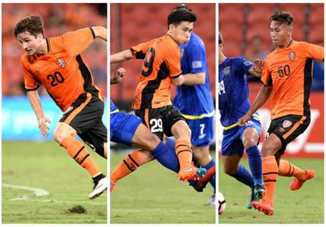 Aloisi applauds Roar youngsters