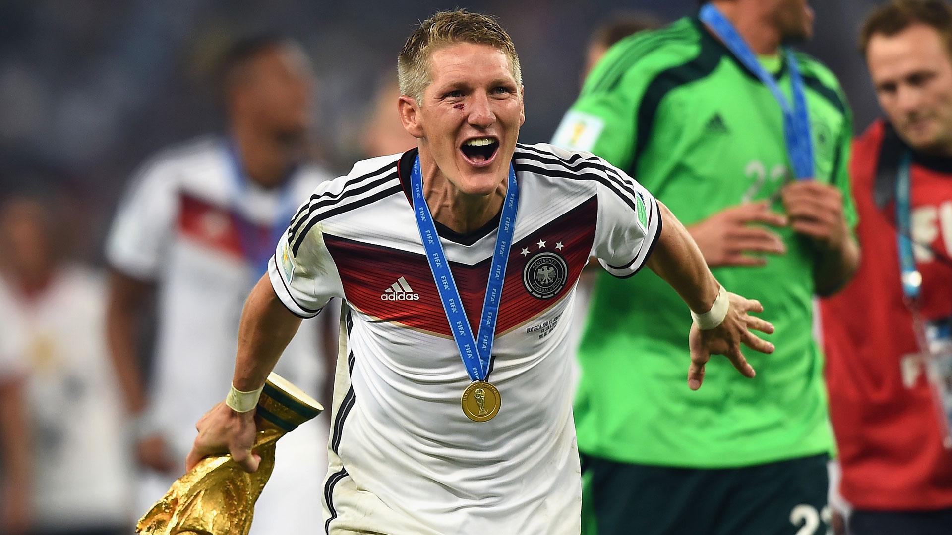 Allemagne - Joachim Löw rend hommage à Bastian Schweinsteiger