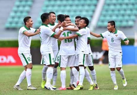 Indonesia Babat Mongolia Tujuh Gol
