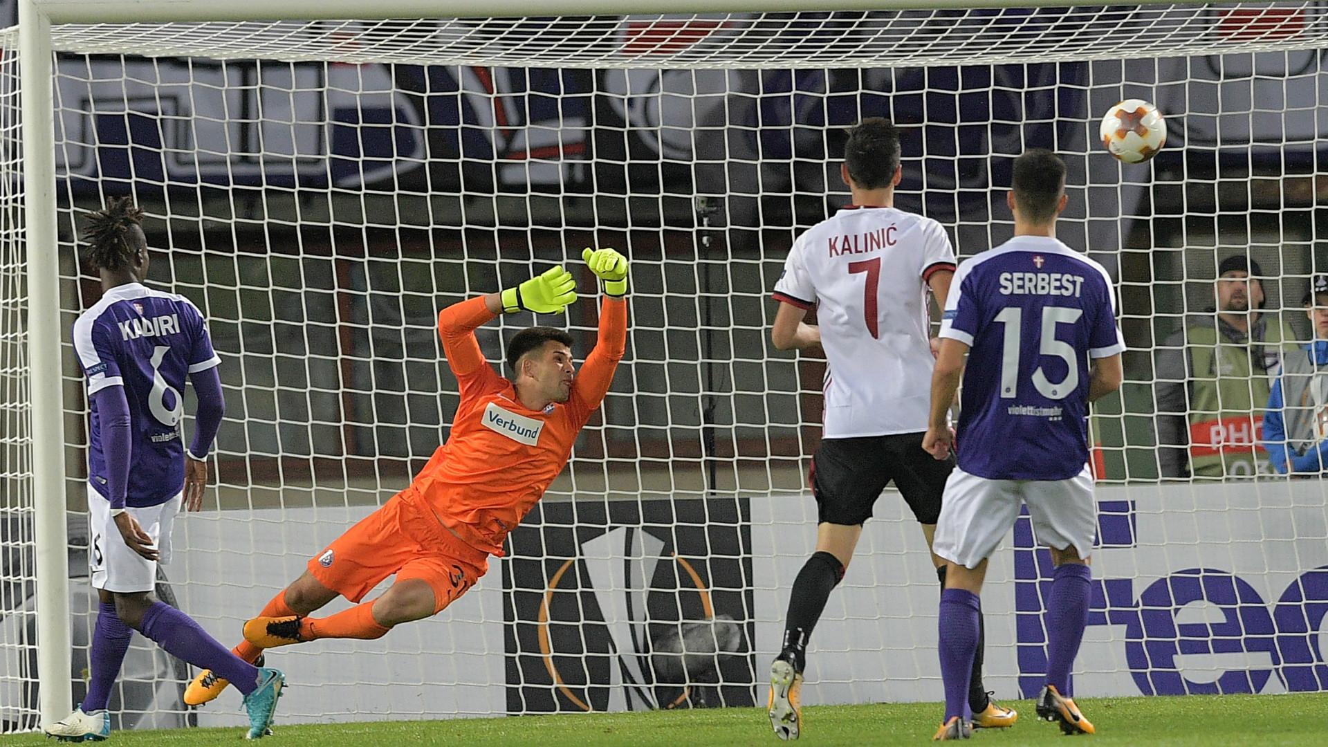 Austria Vienna - Milan 1