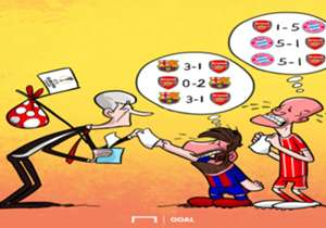 23 DE MAIO l Barcelona e Bayern de Munique estão tristes com a não classificação do Arsenal para a Champions League. Tanto bávaros quanto catalães têm belas lembranças...