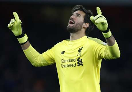 'Alisson is one of the strongest keepers in Europe'