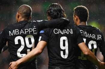 Neymar-Mbappe-Cavani send out a Champions League message