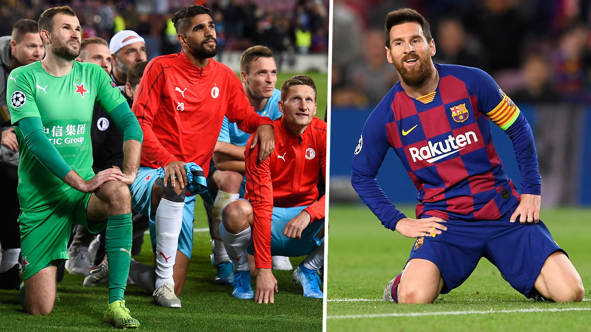 'Messi & the others just left!' - Slavia hero Kolar unhappy with behaviour of Barcelona stars after 0-0 draw